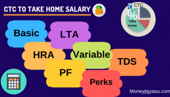 Calculate Take Home salary from CTC (Latest Update Excel Calculator 2020-21)