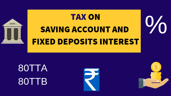 Interest on Fixed Deposits saving Account