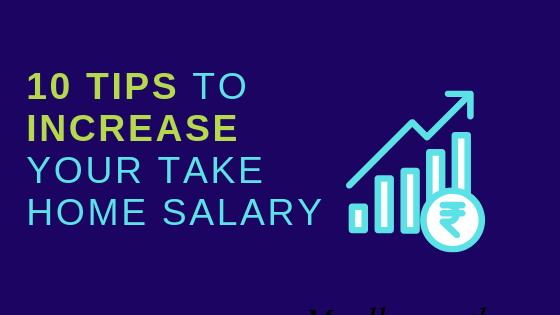 How to increase take home salary India